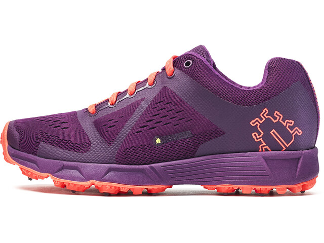 Icebug W's DTS3 BUGrip Shoes DkMagenta/NeonPeach